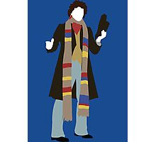 The Fourth Doctor - Doctor Who Photographic Print