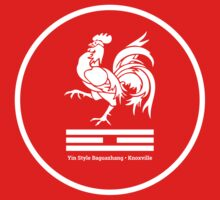 Rooster System - Fire Trigram - YSBKnox (White) by YSBKnoxville