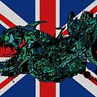 Neo London Mega Shark (uk) by Frank Louis Allen by Frank Allen