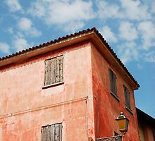 Red Building in Caorle by jojobob