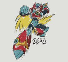Zero (Megaman X) by CalvertSheik