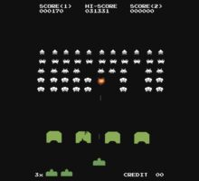 Space Invader - Classic by innercoma