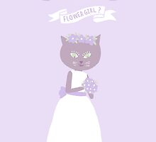 BE MY FLOWER GIRL, PERFECT IN PURPLE by Jane Newland