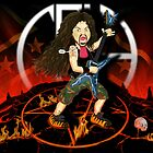 Dimebag From Hell by zazzo