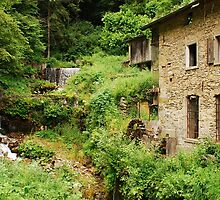 Abandoned Mill Near Salino 3 by jojobob