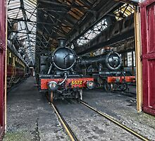 Steam Locomotives HDR by Simon Lawrence