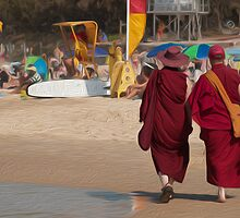 Mooloolaba Monks, Queensland by Karen Duffy