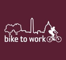 Bike to Work (dark) by KraPOW