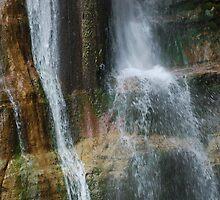 Salino Waterfall Detail 3 by jojobob