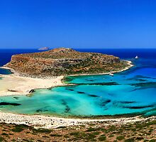 Panorama of Balos by Hercules Milas