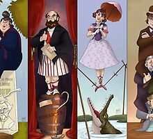 Haunted Mansion- Stretch portraits by ohhaleyeah