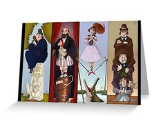 Haunted Mansion- Stretch portraits Greeting Card