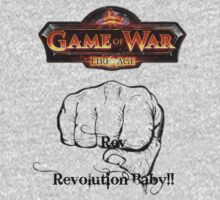 GAME OF WAR: FIRE AGE - REV REVOLUTION BABY! by Rebecca Hansen