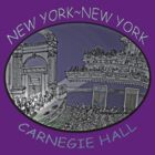 Carnegie Hall - NYC by James Lewis Hamilton