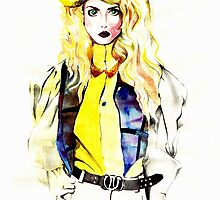 Allison Harvard - Fashion Illustration by ancapora