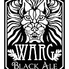 WARG Black Ale Label by ImpyImp