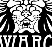 WARG Black Ale Label Sticker