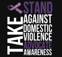 Stand Against Domestic Violence by Alan Craker