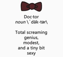 Doctor definition by bananawheel