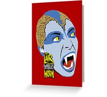 The Lair of the White Worm Greeting Card