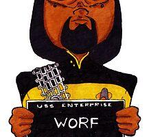 Lt. Worf, Lineup by Bantambb