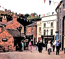BUSTLING BLISTS HILL by TONYARTIST