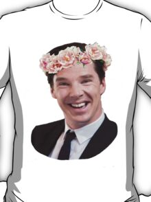Benedict Cumberbatch Flower Crown T-Shirt