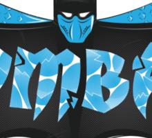 Kom-bat SubZero Sticker