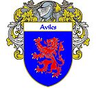 Aviles Coat of Arms/Family Crest by William Martin