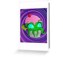 Cupcake Cthulhu Greeting Card