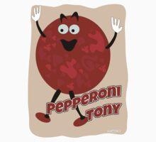 Pepperoni Tony by mytshirtfort