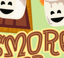 Smore or Less Sticker