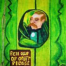 EMERALD CITY DOOR KEEPER by JoAnnHayden