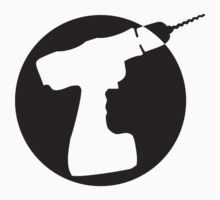 Round Cordless Drill Logo by Style-O-Mat