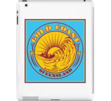 GOLDCOAST, QUEENSLAND, SURFING iPad Case/Skin
