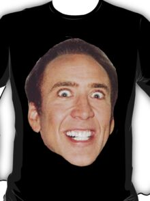 nick cage face T-Shirt