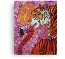 Sunset Tiger Canvas Print