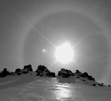 sun halo I by geophotographic