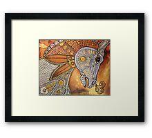 Carousel Runner Framed Print