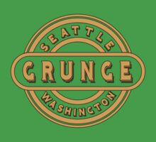 Seattle Grunge Kids Clothes