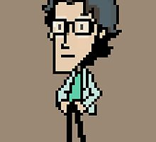 Otacon Sprite - Metal Gear Solid 2 / Sons of Liberty by Studio Momo ╰༼ ಠ益ಠ ༽