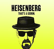 Heisenberg -Breaking Bad-Yellow Sketch by smute20