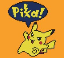 Pika Pikachu - Pokemon Yellow Version by sheakennedy