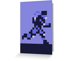 Snake on the Run - Metal Gear Solid Greeting Card