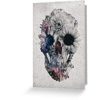 Floral Skull 2 Greeting Card
