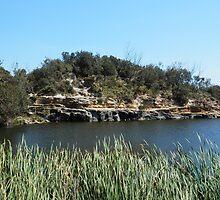 Green Lake, Yamba, Australia. by FangFeatures