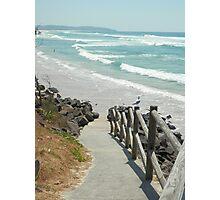Beach Path Photographic Print