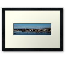 Ottawa River Panorama at Dawn - Still, Cold and Quiet Framed Print