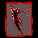 Daredevil: Old Sketch Reborn 7 (iPad Case) by William Brennan