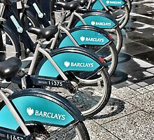 Boris Bikes by rualexa